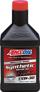 SAE 5W-30 Signature Series 100% Synthetic Motor Oil (ASL)